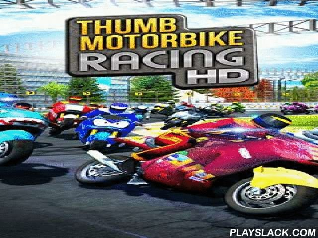 Thumb Motorbike Racing  Android Game - playslack.com , Motorcycles races, to operate which it is accomplishable only by one finger.