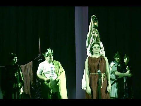 ДИОГЕН, Студенческий спектакль, в постановке Ирины Соколовой, омский агр...