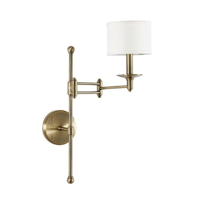 Jenson Articulating Sconce With Shades Swing Arm Wall