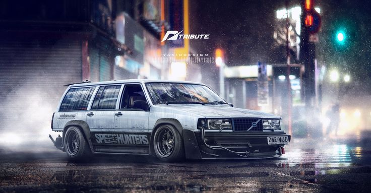 Speedhunters Volvo 940 Need for speed Tribute  by yasiddesign.deviantart.com on @DeviantArt