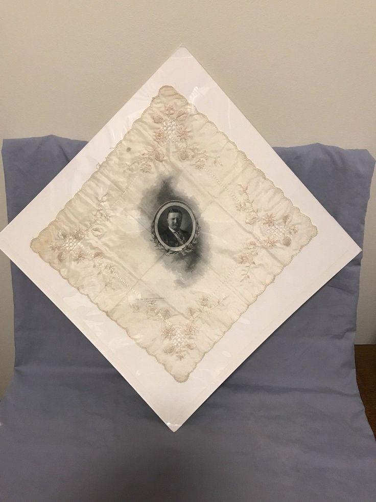 #antique Rare Milton Friedberg 1910 Ohio Valley Exposition Cincinnati Silk Handkerchief please retweet