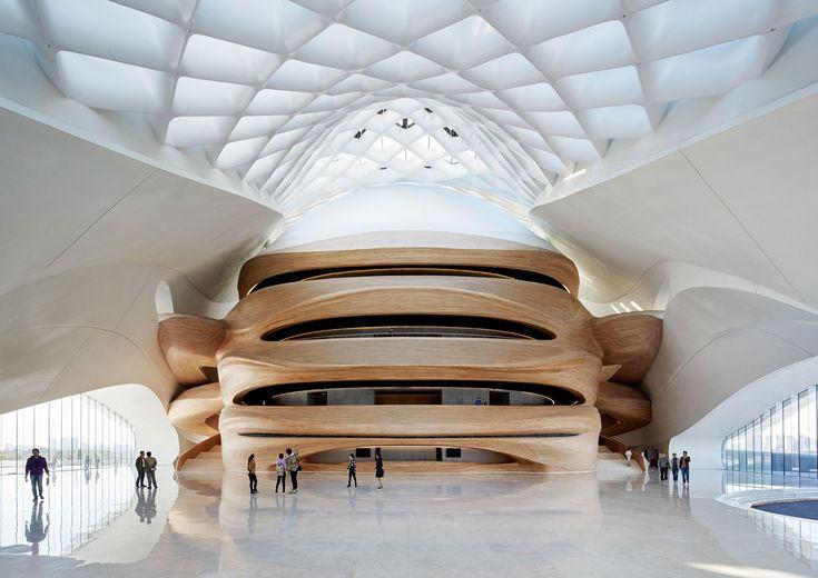 Schneeverwehung aus Stahl: Opernhaus in Harbin - DETAIL.de - das Architektur- und Bau-Portal