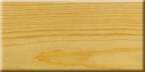 Solid pine with lye and oil finish.