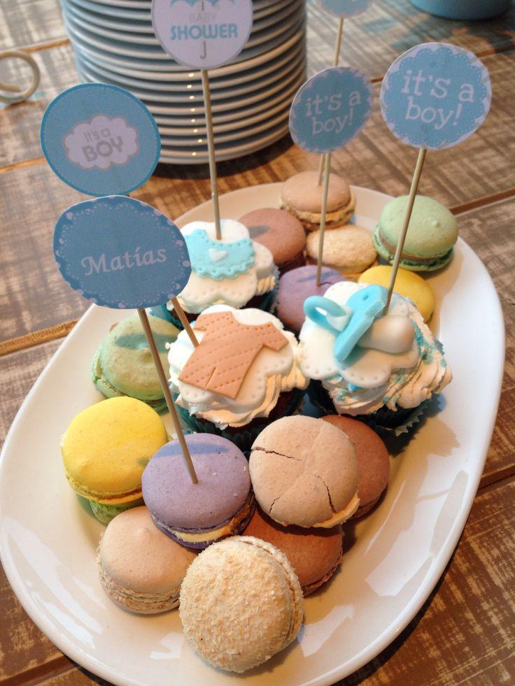 Macarrones & cupcakes babyshower