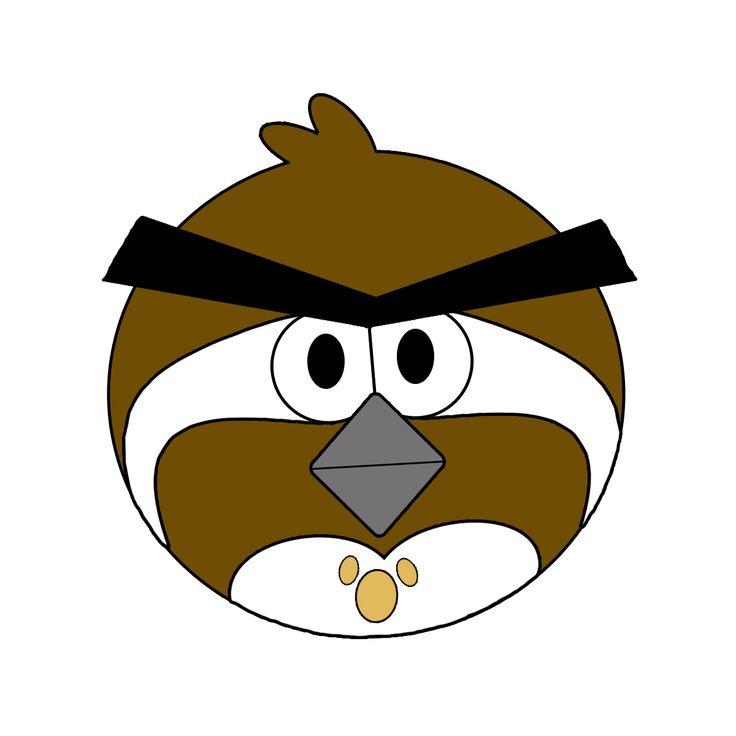 Wood Badge Bobwhite Angry Bird