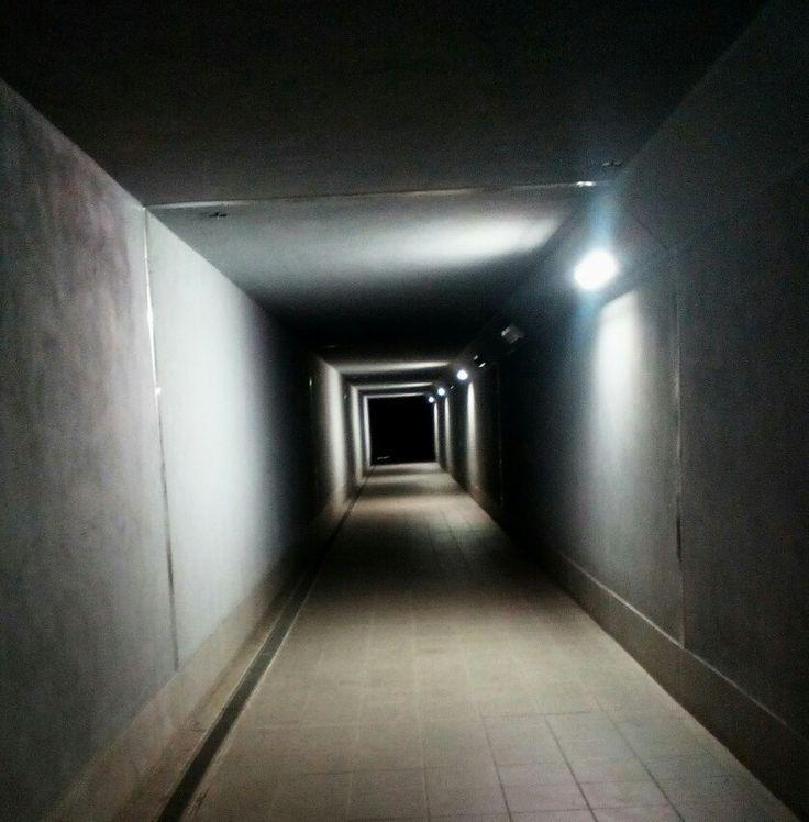 Scary way