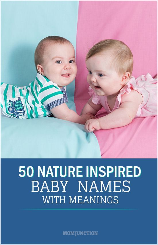 50 Nature Inspired Names For Your Baby With Their Meanings:MomJunction has compiled 100 wondrous nature baby names for you. Each one comes with a beautiful meaning and reflects the beauty of nature. Check them out! #names #babynames #nature