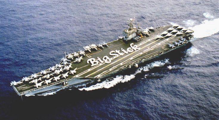 USS Theodore Roosevelt - BigStick - USS Theodore Roosevelt (CVN-71) - Wikipedia, the free encyclopedia