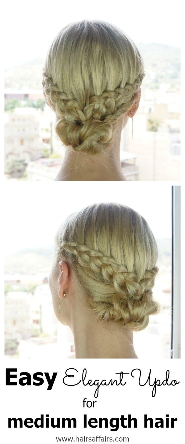 EASY DIY BRAIDED BUN – HAIR TUTORIAL https://hairsaffairs.com/easy-diy-braided-bun-hair-tutorial/