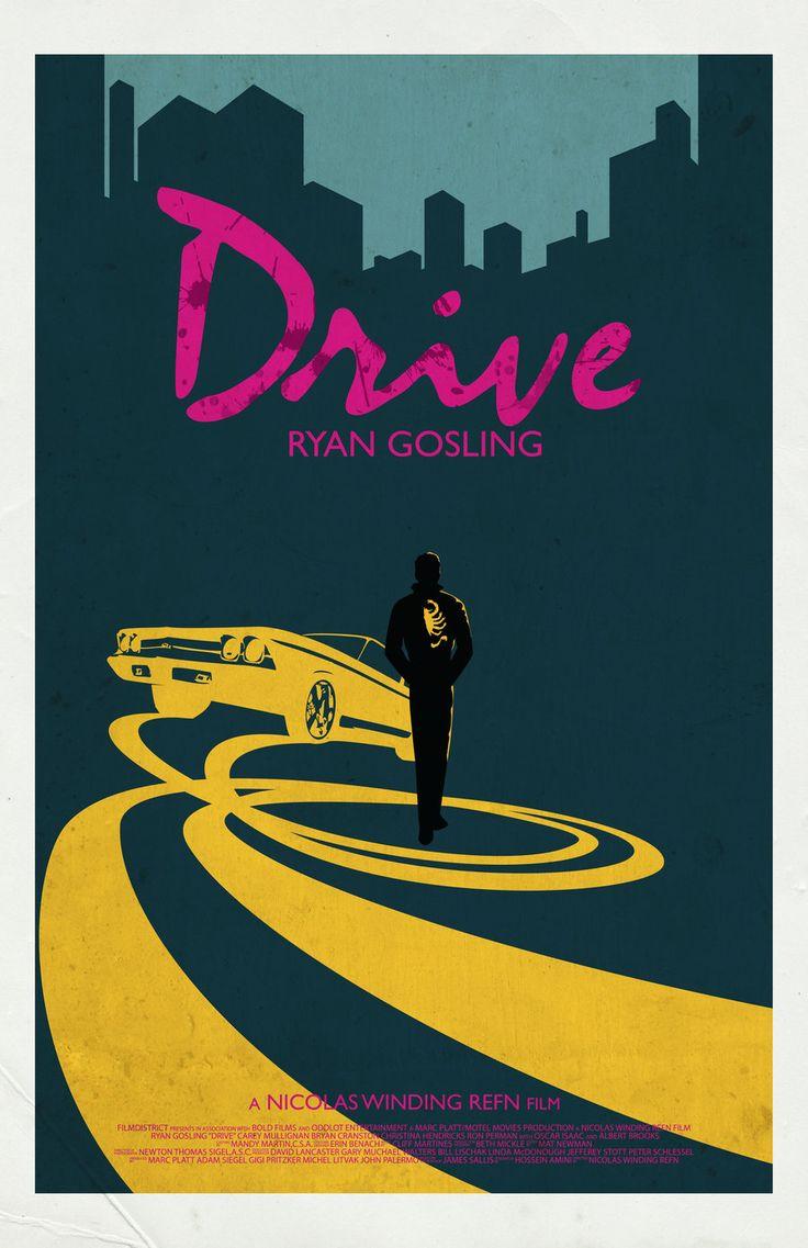 Drive Movie Poster by jleeisme.deviantart.com on @deviantART