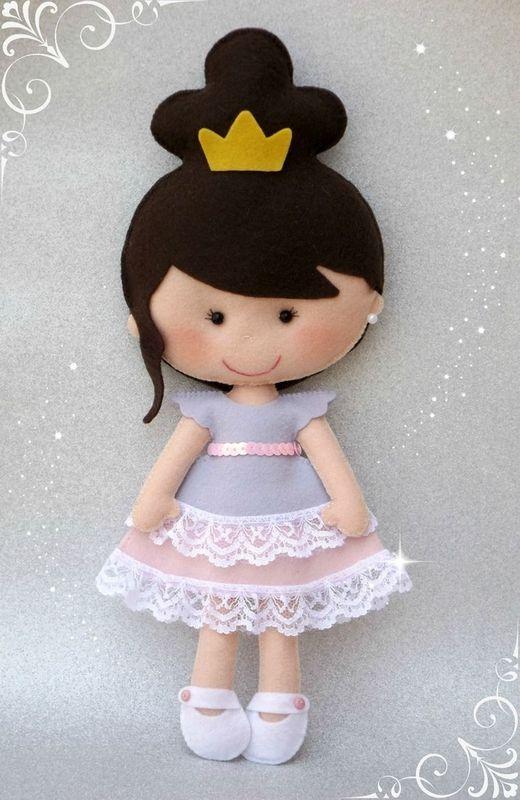 Apostila Digital Princesa Bailarina - Moldes Mimo's
