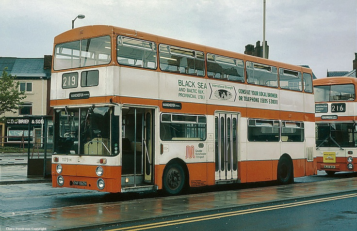 To assuage fellows mentally scarred by the picture of the Borismaster encroaching Piccadilly Gardens, enjoy this shot of two proper buses in Stalybridge bus station from 1981. I wonder what happened to Black Sea and Baltic (UK and Provincial Ltd)? (Photograph by Lady Wulfrun)