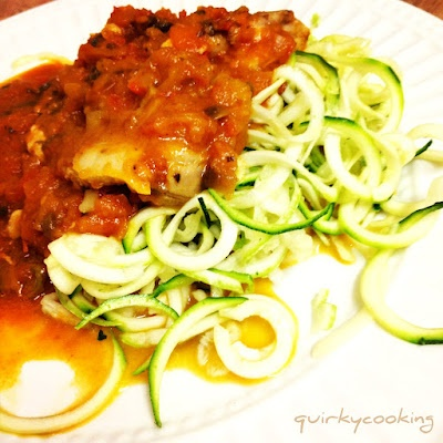 Quirky Cooking: Chicken Pasta with Zoodles {oh, and a bonus Chicken Zoodle Soup Recipe!}