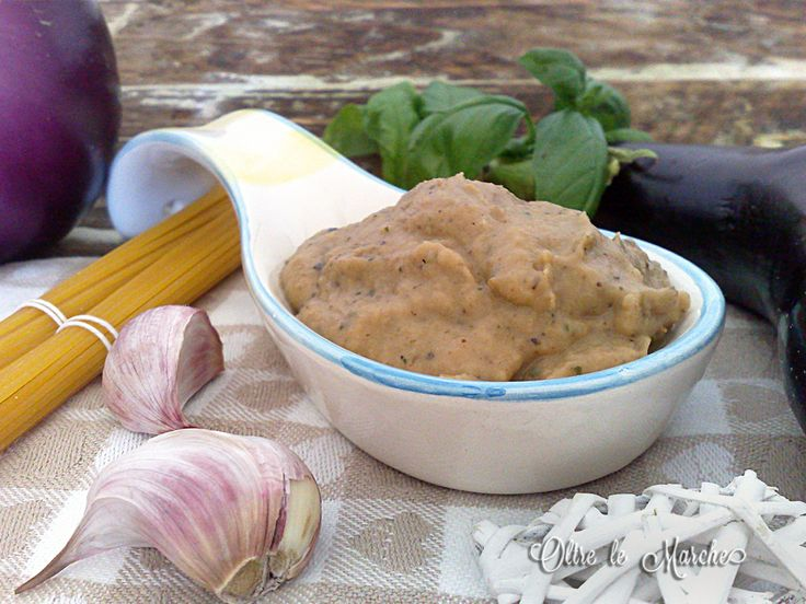 Pesto+di+melanzane,+ricetta+vegetariana