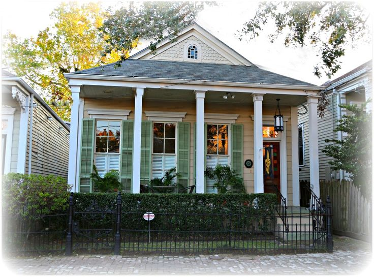 179 best images about new orleans row house on pinterest for Piani casa cottage shotgun
