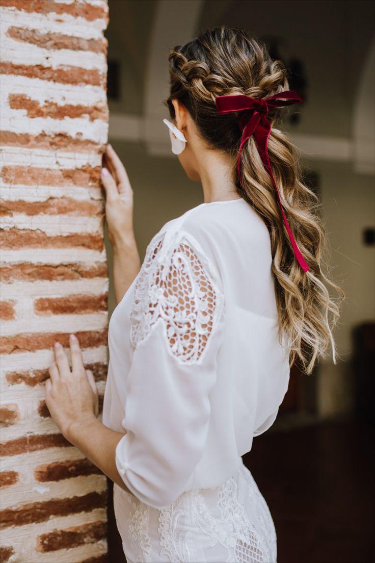Ideas bonitas para peinados bodas 2021 invitadas Imagen de cortes de pelo consejos - Peinados para novias en 2020 | Novios, Inspiración para ...