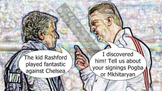 José Mourinho Says Marcus Rashford Played Fantastically Well #Mourinho #vanGaal #ManUnited #Chelsea #EPL #MUNCHE #Pogba #Ibrahimovic #Mkhitaryan #ManCity #Arsenal #Liverpool #Neymar #Messi #Ronaldo #FCBarcelona #Jokes #Comic #Laughter #Laugh #Football #FootballDroll #Funny #CR7 #RealMadrid