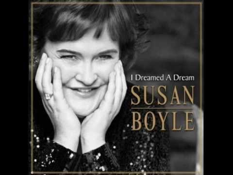 Susan Boyle- I dreamed a dream lyrics (CD Album) - YouTube