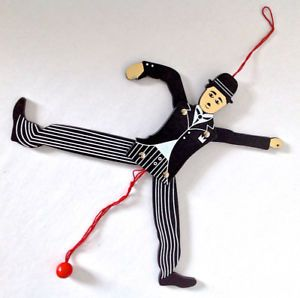 Collection. Cinéma. Pantin mobile Charlie Chaplin