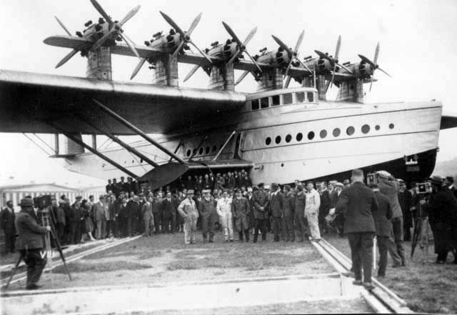 Monster aircraft are nothing new. The German firm Dornier created the Do X in 1929. It was a flying boat powered by 12 (!) motors of 610 horsepower each. Three were built and some did operate in commercial service.