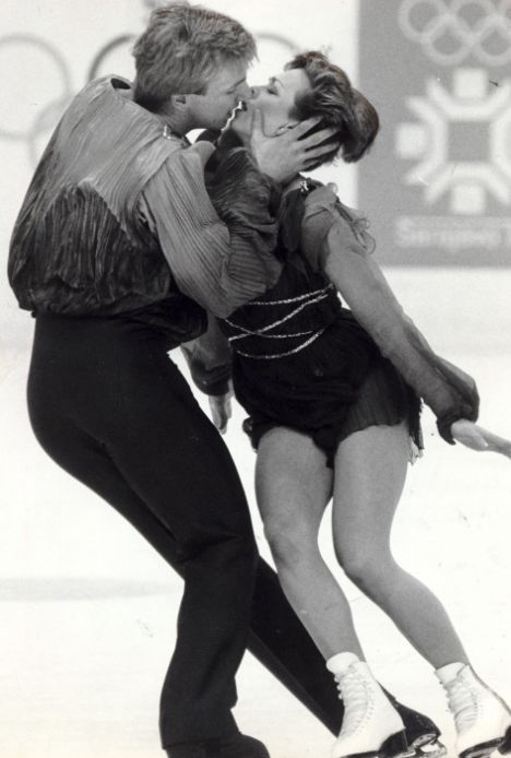 Torvill and Dean were so steamy on the rink, they had to be lovers, right?
