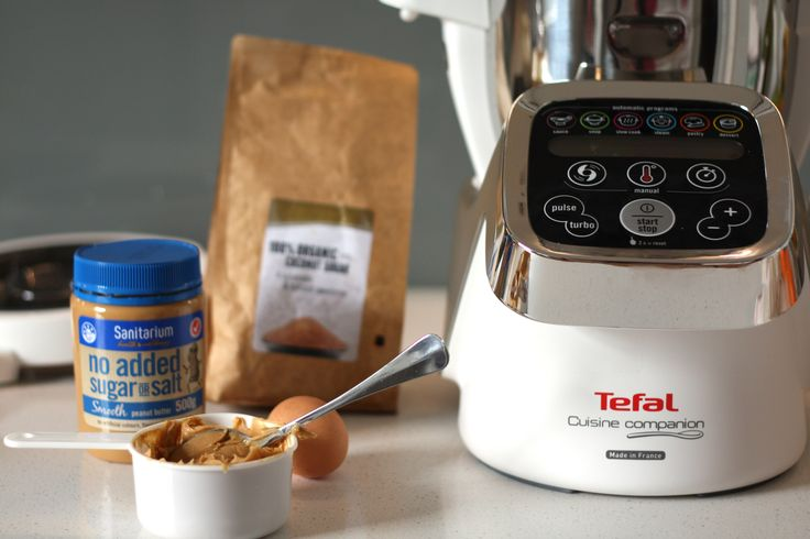 Peanut butter cookies with Tefal Cuisine Companion
