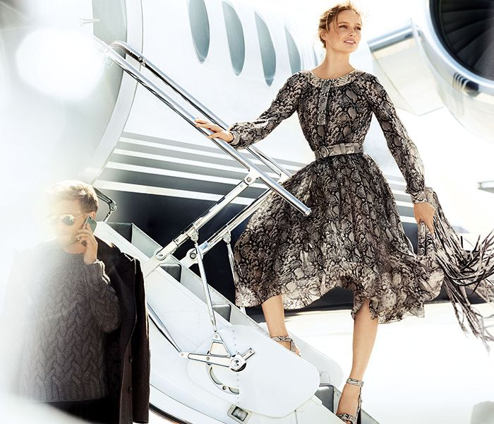 Michael Kors fall 2014 ad campaign