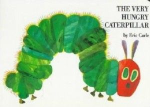 The Very Hungry Caterpillar Book Cover and Preschool Lesson Plan Health and Nutrition