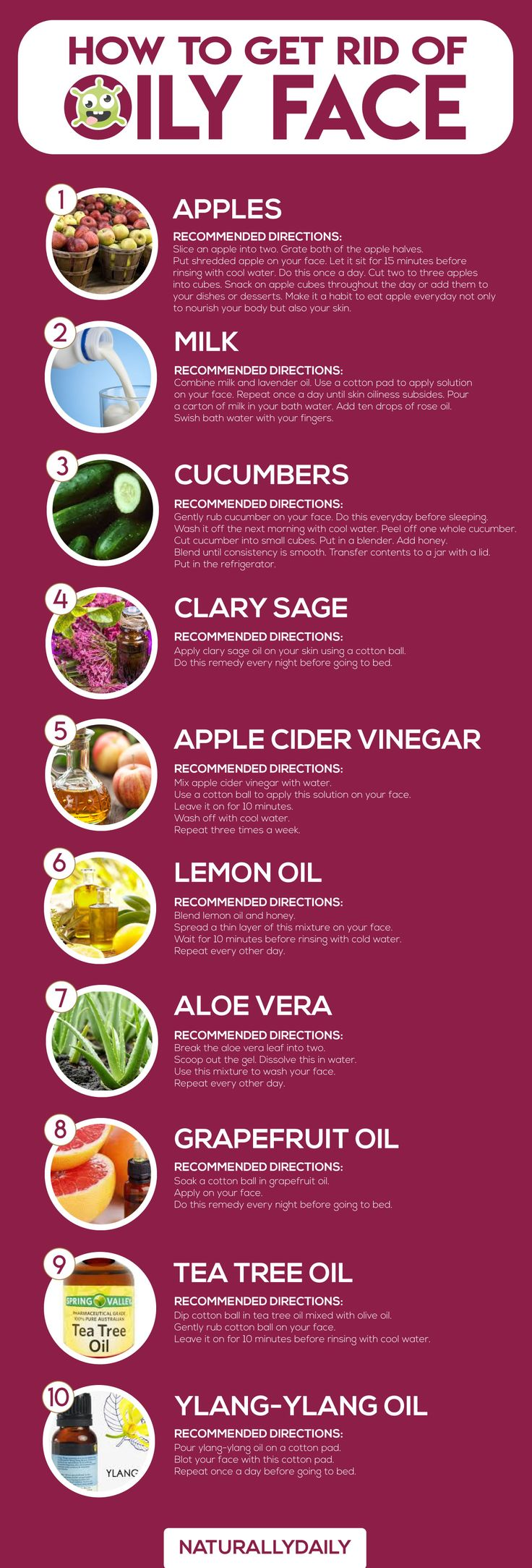 How to Get Rid of Oily Face: 10 Best Home Remedies