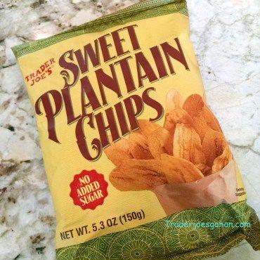 Trader Joe's Sweet Plantain Chips 5.3oz/150g $1.79 トレーダージョーズ スイートプランティンチップス