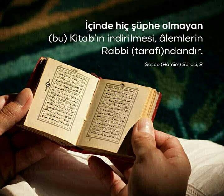 Şüphesiz! #kuran #kitap #islam #ayetler #secdesuresi #ayet #hadidsuresi #müslüman #hayırlıcumalar #şüphesiz #mükemmel #ilmisuffa