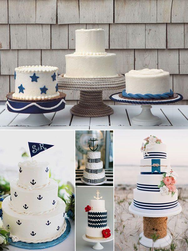 Nautical Wedding Cakes ideas