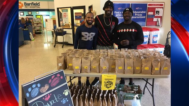 Cowboys wide receiver Dez Bryant helped out homeless animals over the weekend.