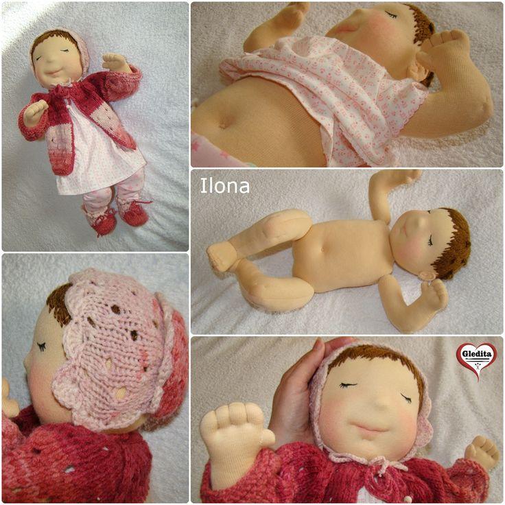 Gledita Baby doll - Ilona Available in Etsy: https://www.etsy.com/listing/279346994/ilona-gledita-baby-doll-20-inches-50-cm?ref=shop_home_active_13 #gleditababydoll #dollsinetsy