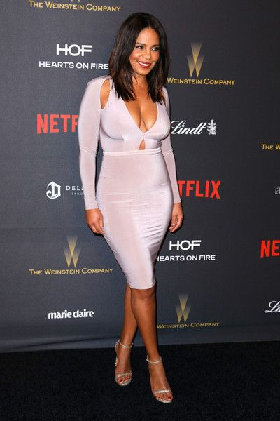 Sanaa Lathan Photos Photos - Actress Sanaa Lathan attends the 2016 Weinstein Company and Netflix Golden Globe Awards After Party at The Beverly Hilton on January 10, 2016 in Los Angeles, California. - 2016 Weinstein Company And Netflix Golden Globes After Party - Arrivals