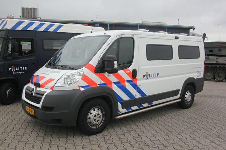 Citroën Jumper 2.2HDI Regiopolitie  Groningen 2008 politievoertuigen.nl