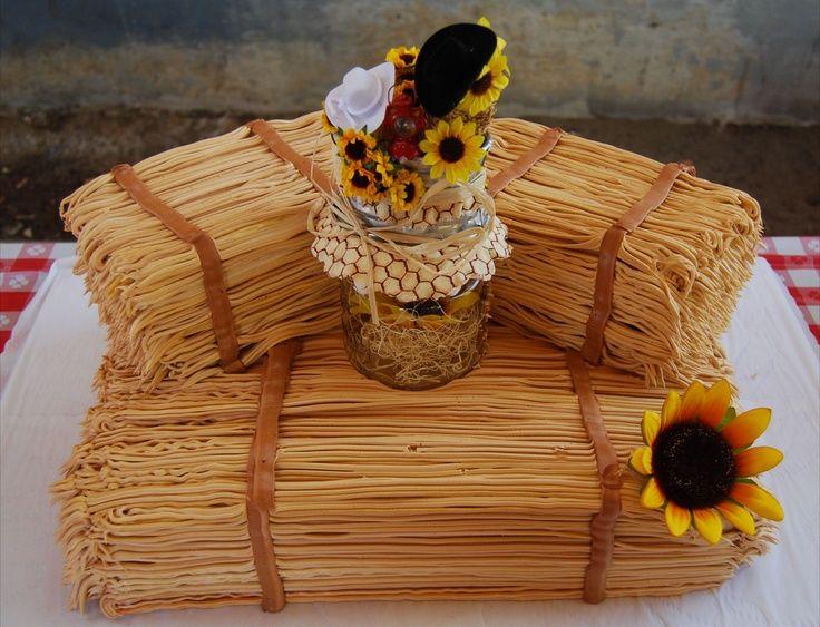 Straw Bale Cake Google Search