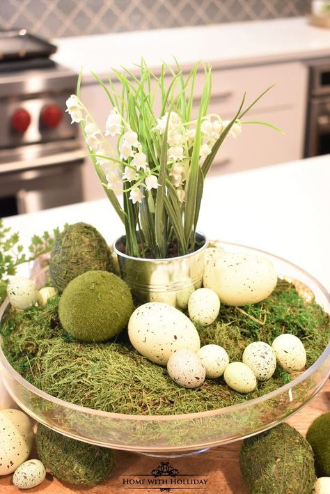 Tips for Creating Simple Spring or Easter Decor Easter decor