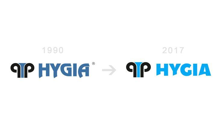 Redesign loga společnosti Hygia