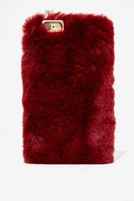 Soft Spot Faux Fur iPhone 6 Case