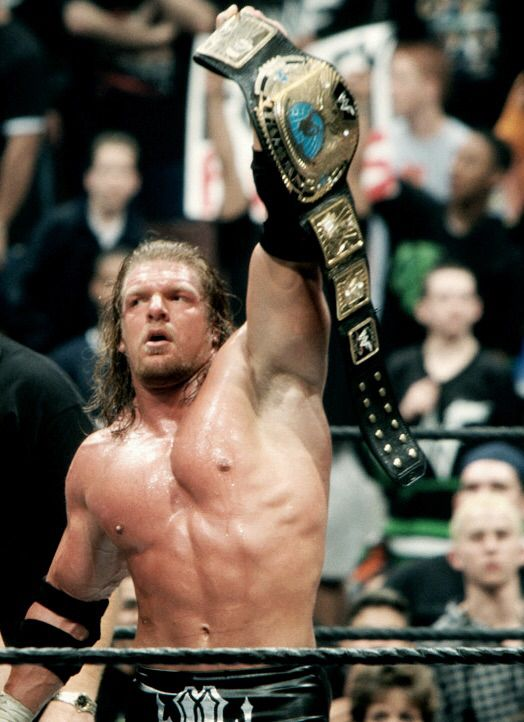 Triple H - WWF Champion, WWF WrestleMania 2000, 2000