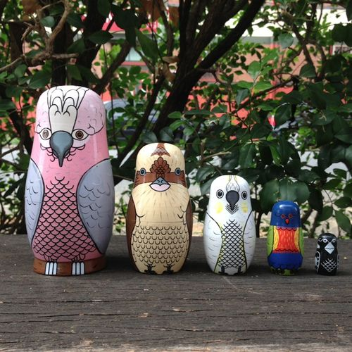 """Australian Bird Babushka. Love, love, LOVE! $45"" I need this!! So cute!!"