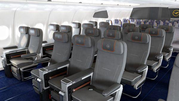 World premiere: Lufthansa presents Premium Economy Class