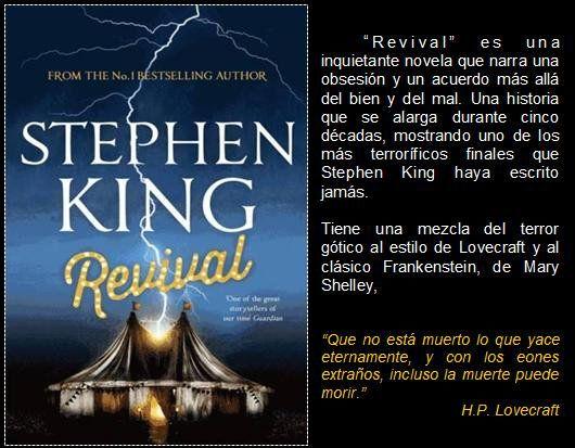 Revival. Stephen King. Eduread: #RecomiendoLeer @davidgscom