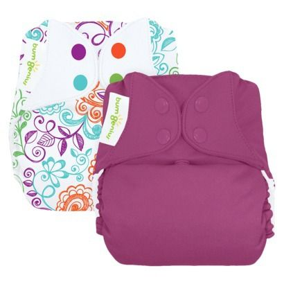 TARGET SELLS BGs!!!! Whaaaaaaa... bumGenius Freetime All-In-One Snap Reusable Diaper (2 Pack) - Assorted Colors