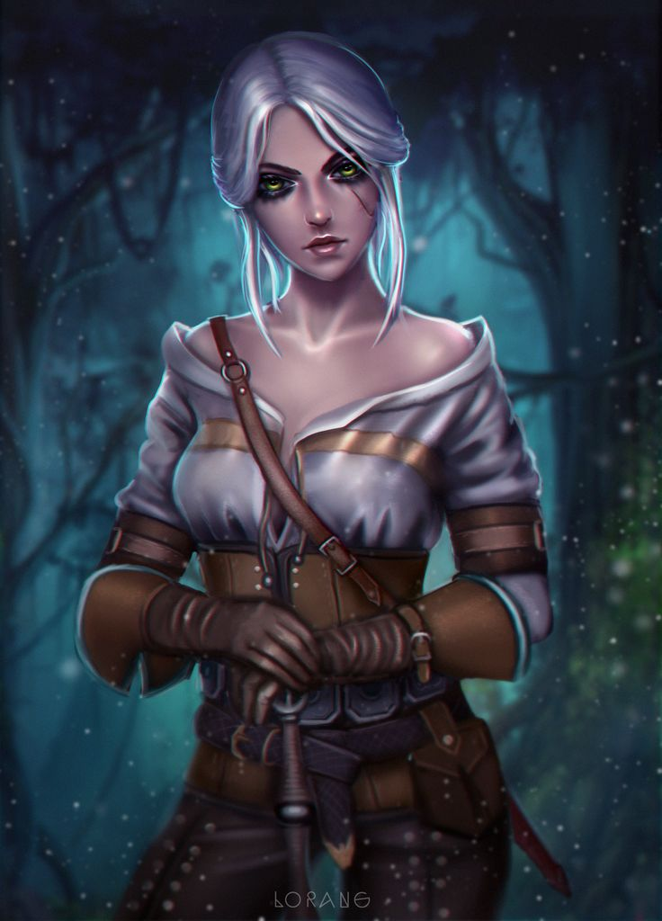 For the witcher 3 ciri xxx need deep