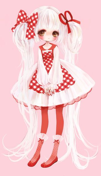 Country lolita art