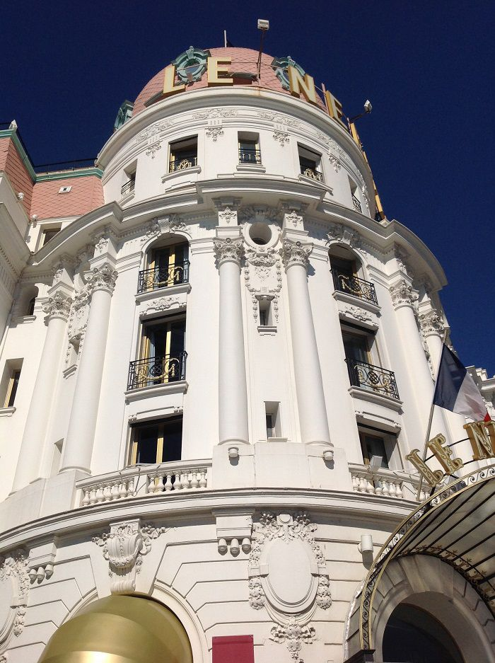 "Hotel ""Le Negresco"" - Facciata esterna"