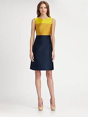 Akris Punto Colorblock Dress