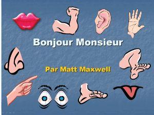 eTools for Language Teachers - Free French Language PowerPoint Exercises
